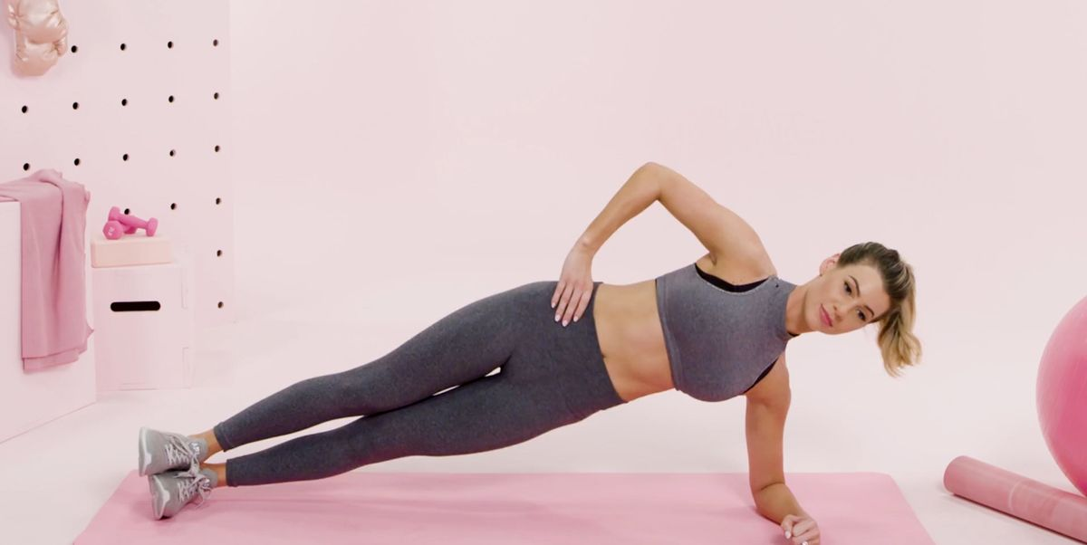 How To Do A Side Plank Exercise Side Plank Variations