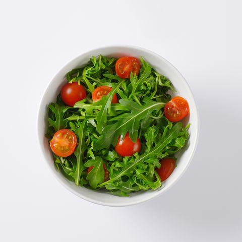 rocket and tomato salad