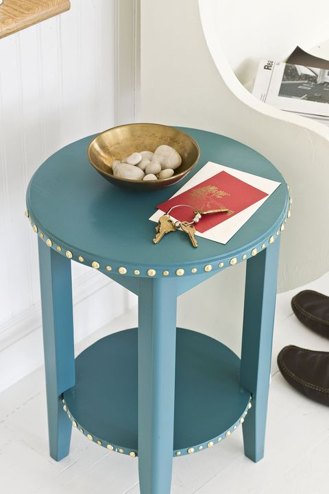 Brass Side Table- DIY Home Decor