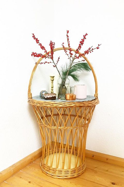 side tables basket