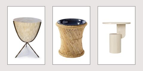 Table, Drum, Furniture, Lampshade, Beige, Wicker, Stool, Coffee table, Membranophone,