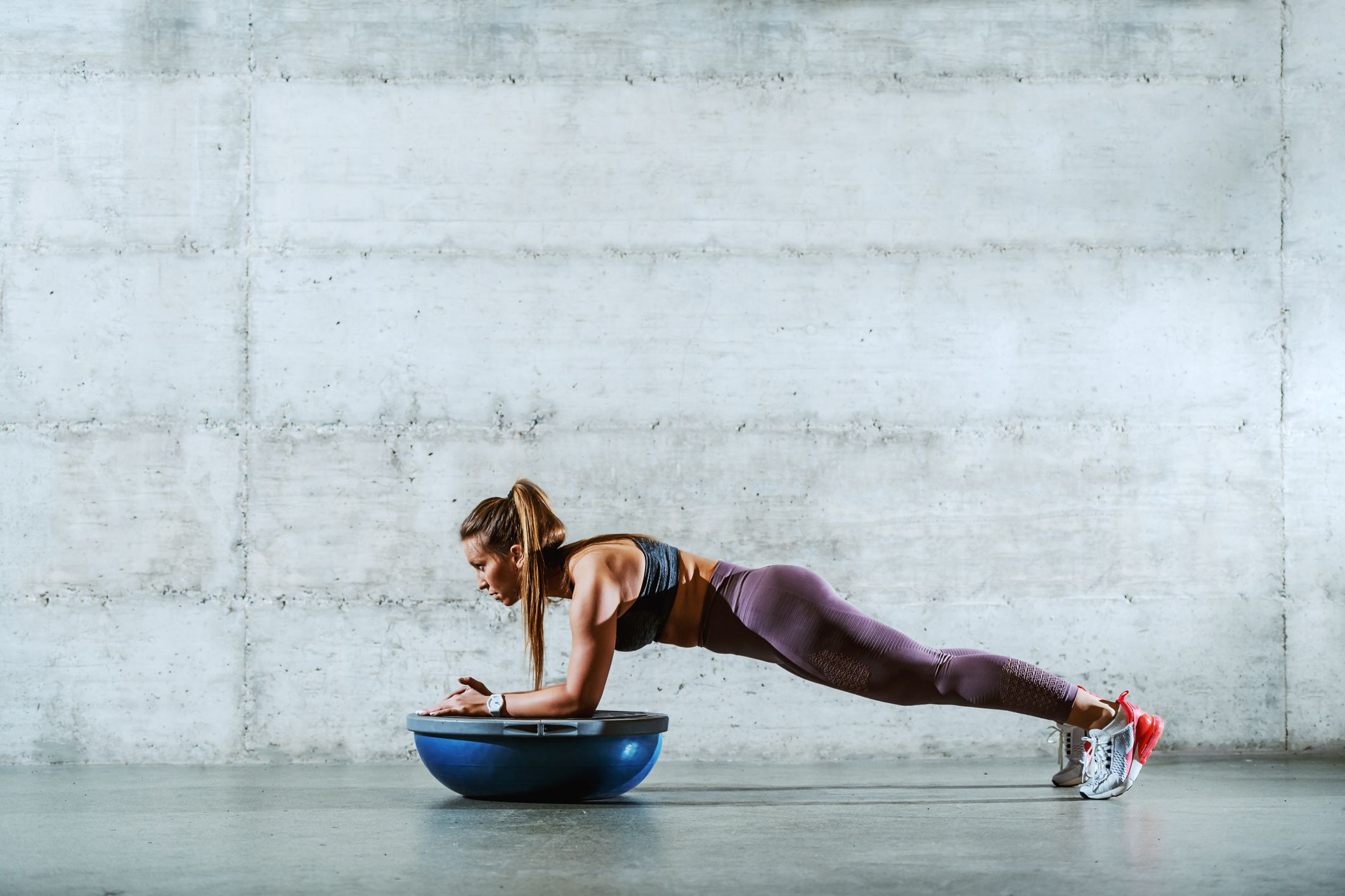 5 Bosu Exercises for a Challenging Total-Body Workout