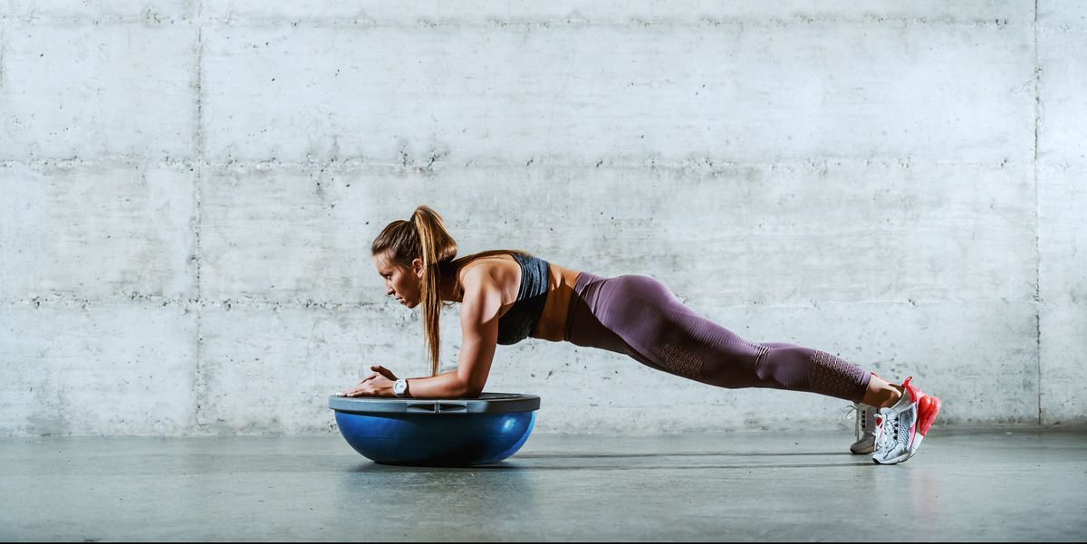 These 5 Bosu Exercises Will Challenge Every Major Muscle Group in Your Body