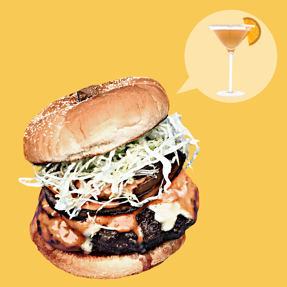 How to Make a Burger That Tastes Like a Sidecar Cocktail