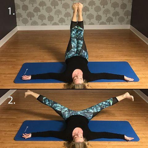 side split stretch