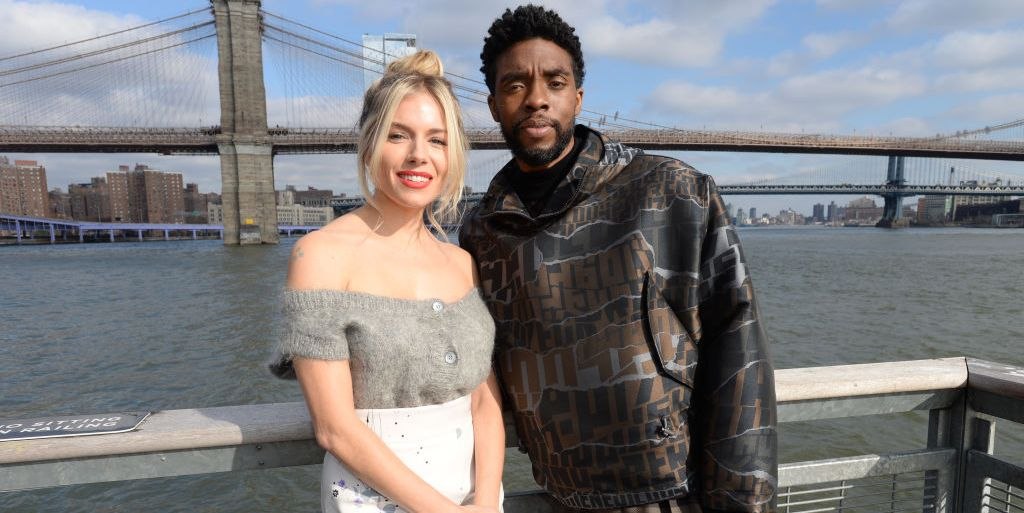 Sienna Miller Says Chadwick Boseman Donated Some of His Salary So She Could Be Paid More for Their Movie