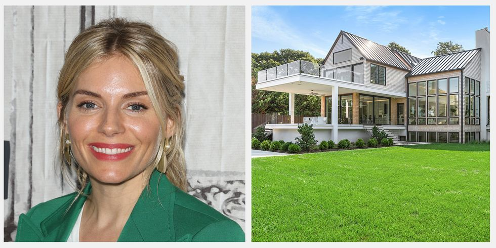 Sienna Miller's Sag Harbor Vacation Home is on Sale for $11.25 Million