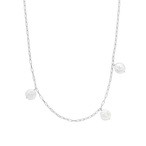 anna  nina   never enough pearls necklace silver   accessoires   parels