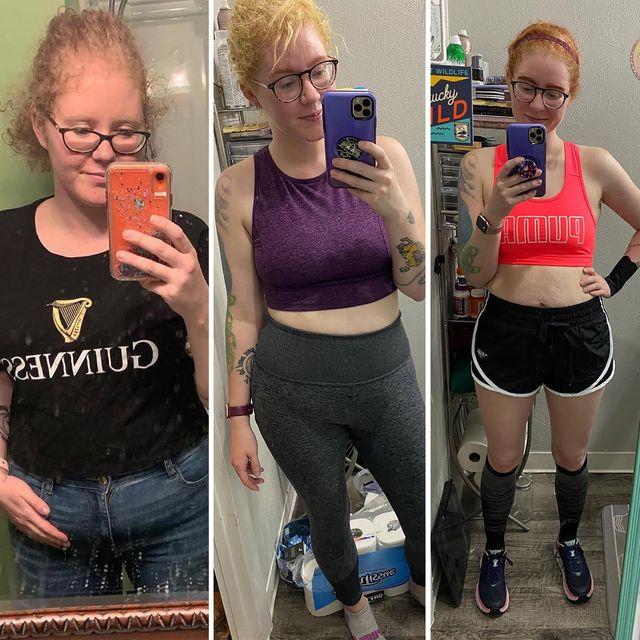 sierra white running weight loss