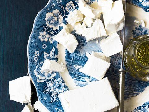 Blue, Paper, Paper product, Porcelain, Lace, Floral design,