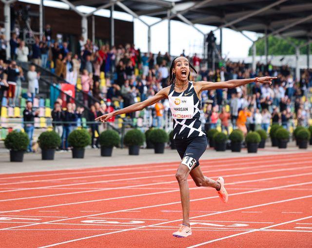 sifan hassan, récord mundial de 10000 metros