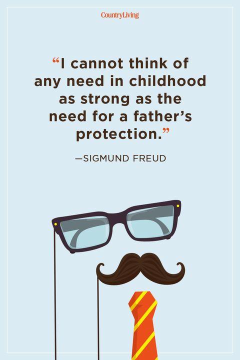 sigmund freud step dad quote