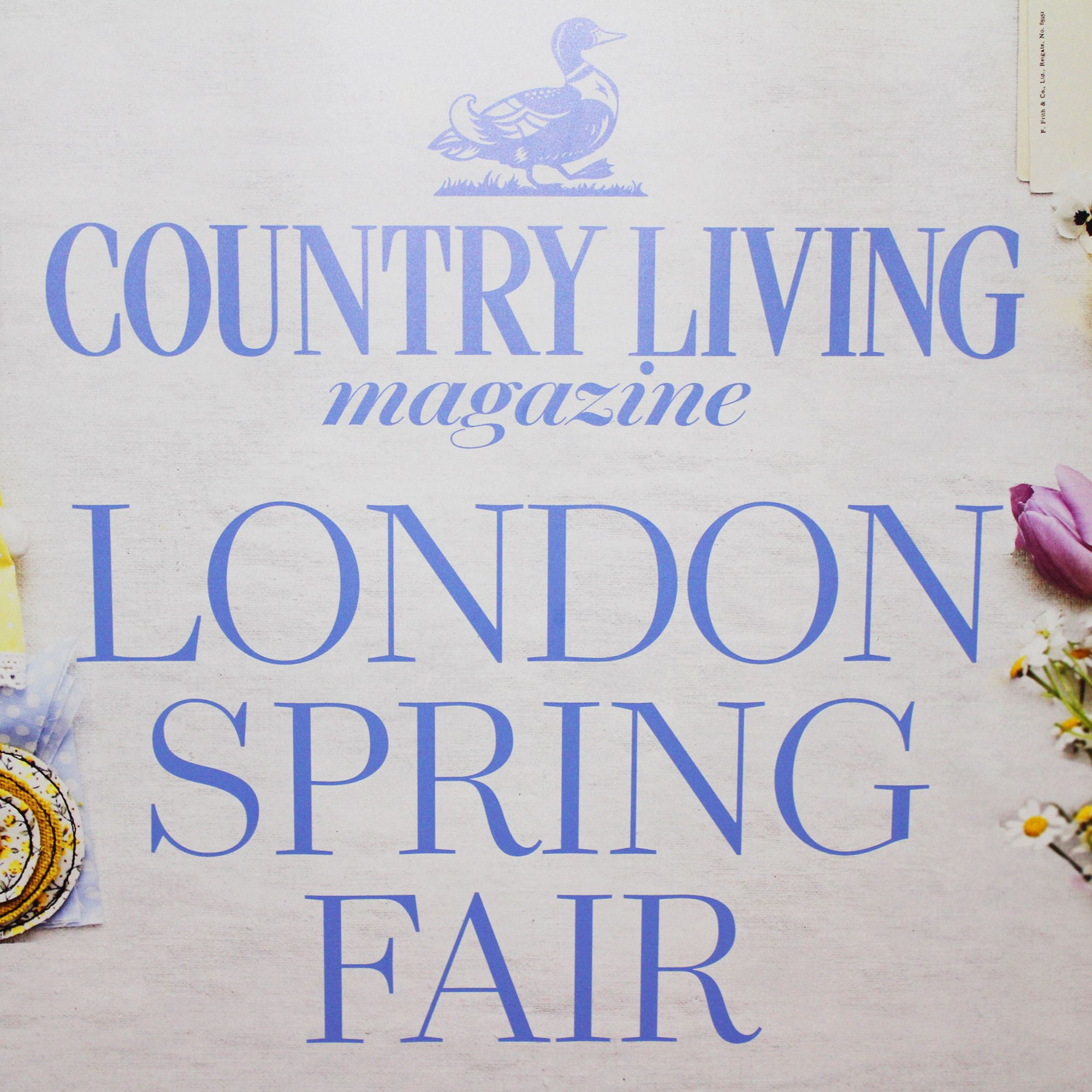 Join us at our Country Living Spring Fair 2020