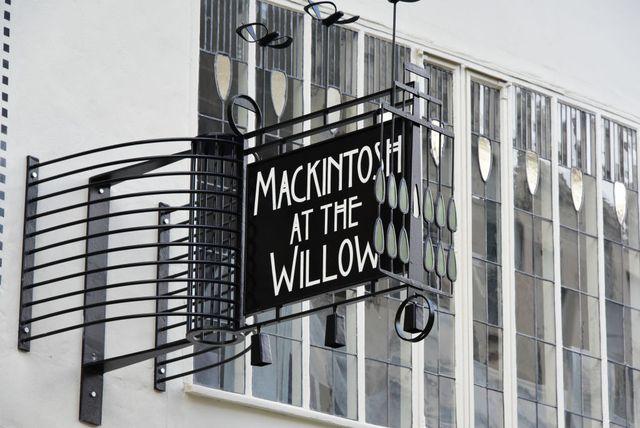 remains of glasgow school of art mackintosh building following massive blaze