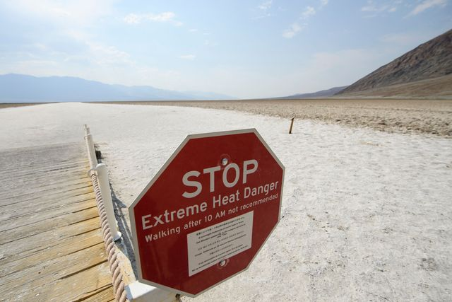death valley, hottest place on earth