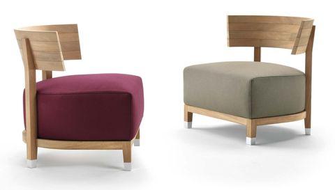 Salones: muebles en tendencia. Butacas de exterior