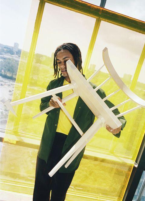 Silla de la colección MARKERAD de IKEA