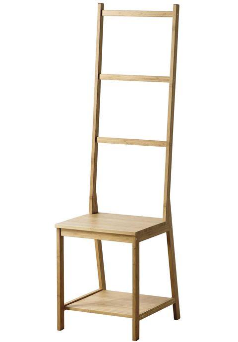 Silla-toallero de bambú Rågrund, Ikea