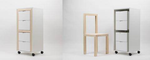 soluciones para tener más sillas enespacios pequeños