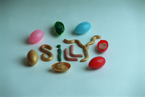 Silly putty for STUFF column by Teplinsky.