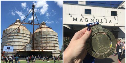 silo district marathon chip gaines