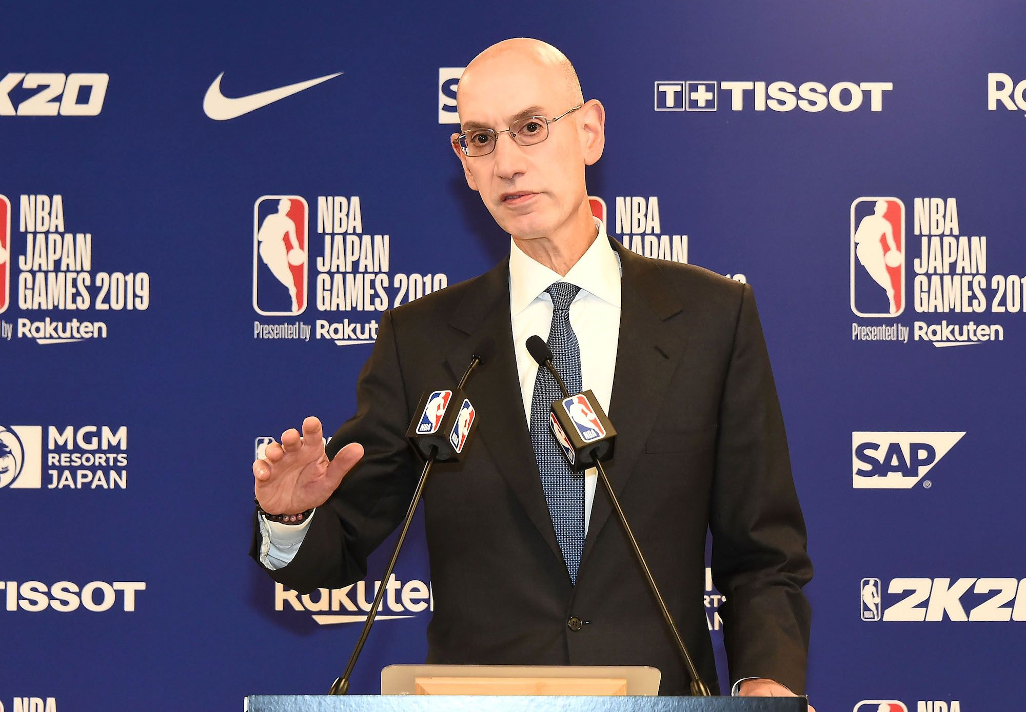 The NBA and Adam Silver Are Part of a Rich American Tradition of Appeasing China's Totalitarian Regime