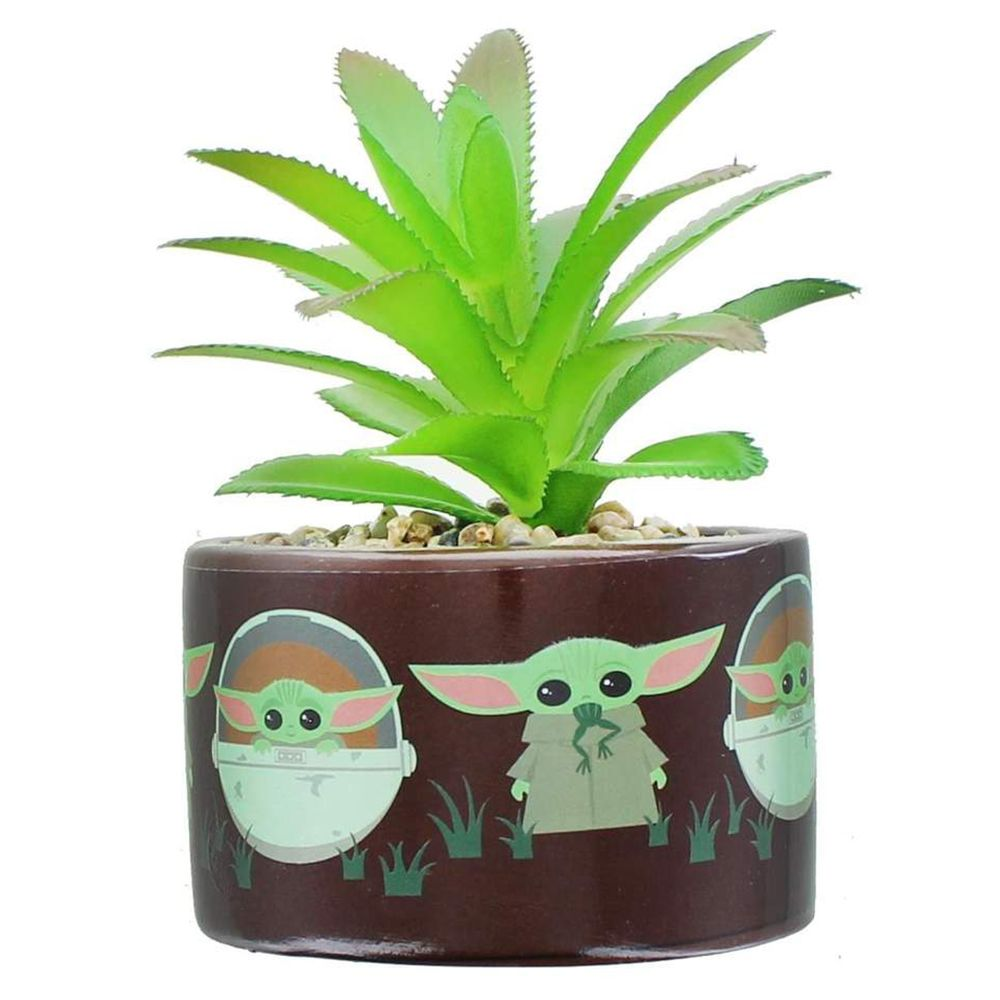 This Baby Yoda Succulent Planter Will Take Your Space Out of This World