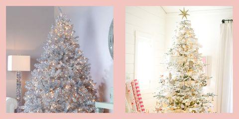 best silver christmas tree ideas