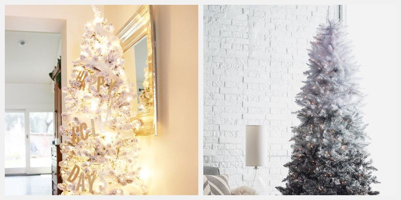 Pictures Of Christmas Trees.These Silver Christmas Trees Are Our Latest Holiday Obsession