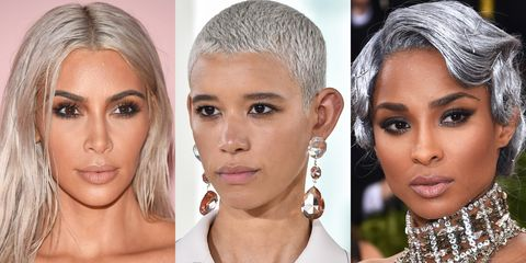 Silver Hair Idea Photos Celebrities With Gray Hair