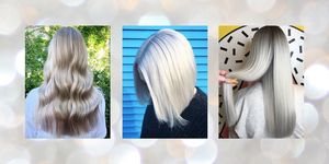 Silver Hair - Ideas, Colours, Inspiration pictures