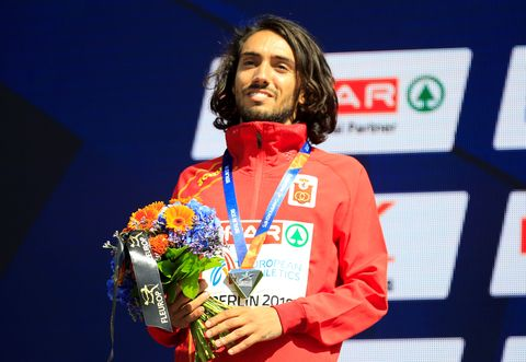 Fernando Carro, récord de España de 3.000m obstaculos