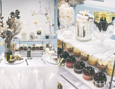 Food, Dessert, Table, Brunch, Cuisine, Sweetness, Furniture, Tableware, Interior design, Party favor,