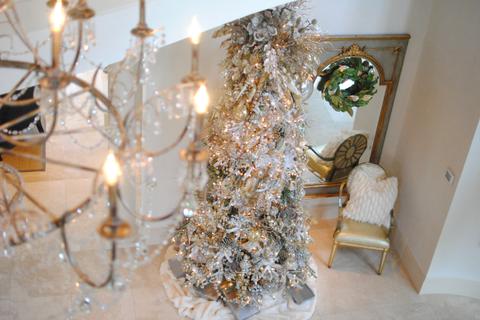 silver christmas tree ideas