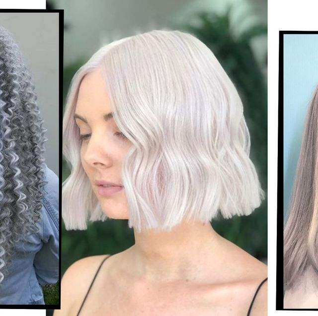 Silver Hair - 10 Silver Hair Dye Ideas To Add To Your Hair ...