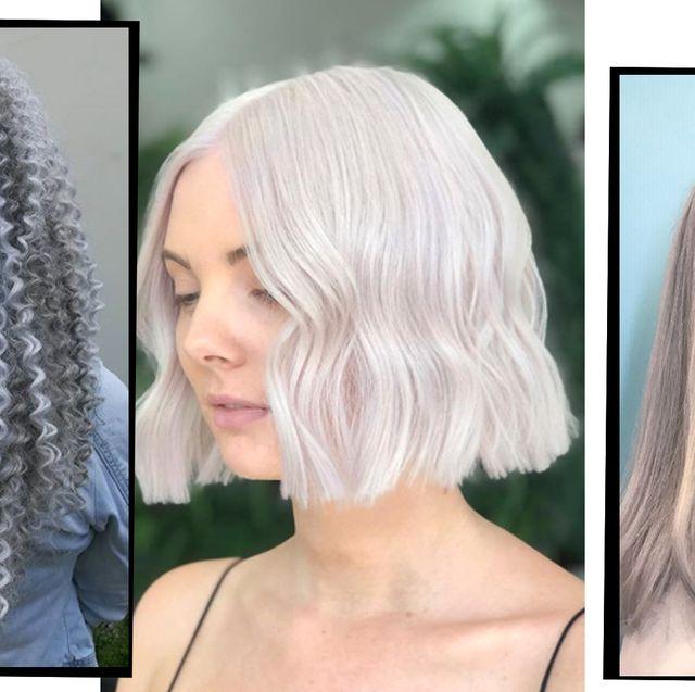 Silver Hair - 10 Silver Hair Dye Ideas To Add To Your Hair Colour ...