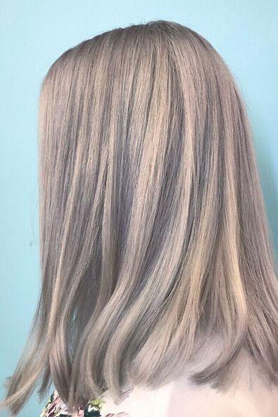 Hair, Hairstyle, Blond, Hair coloring, Layered hair, Chin, Wig, Forehead, Long hair, Step cutting,