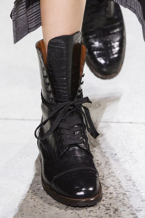 913c9aacbe9c3 33 Fall Shoe Trends for 2018 - Best Boots From New York Fashion Week ...