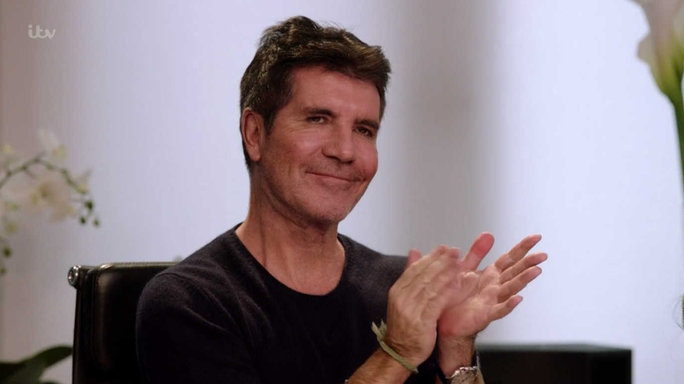 The X Factor: The Band viewers left majorly distracted by something in Simon Cowell's office