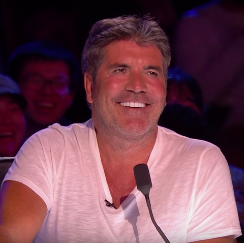 Simon Cowell on Britain's Got Talent