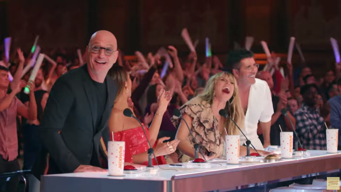 Simon Cowell Steals Howie Mandel's Golden Buzzer in a Chaotic 'AGT' Moment