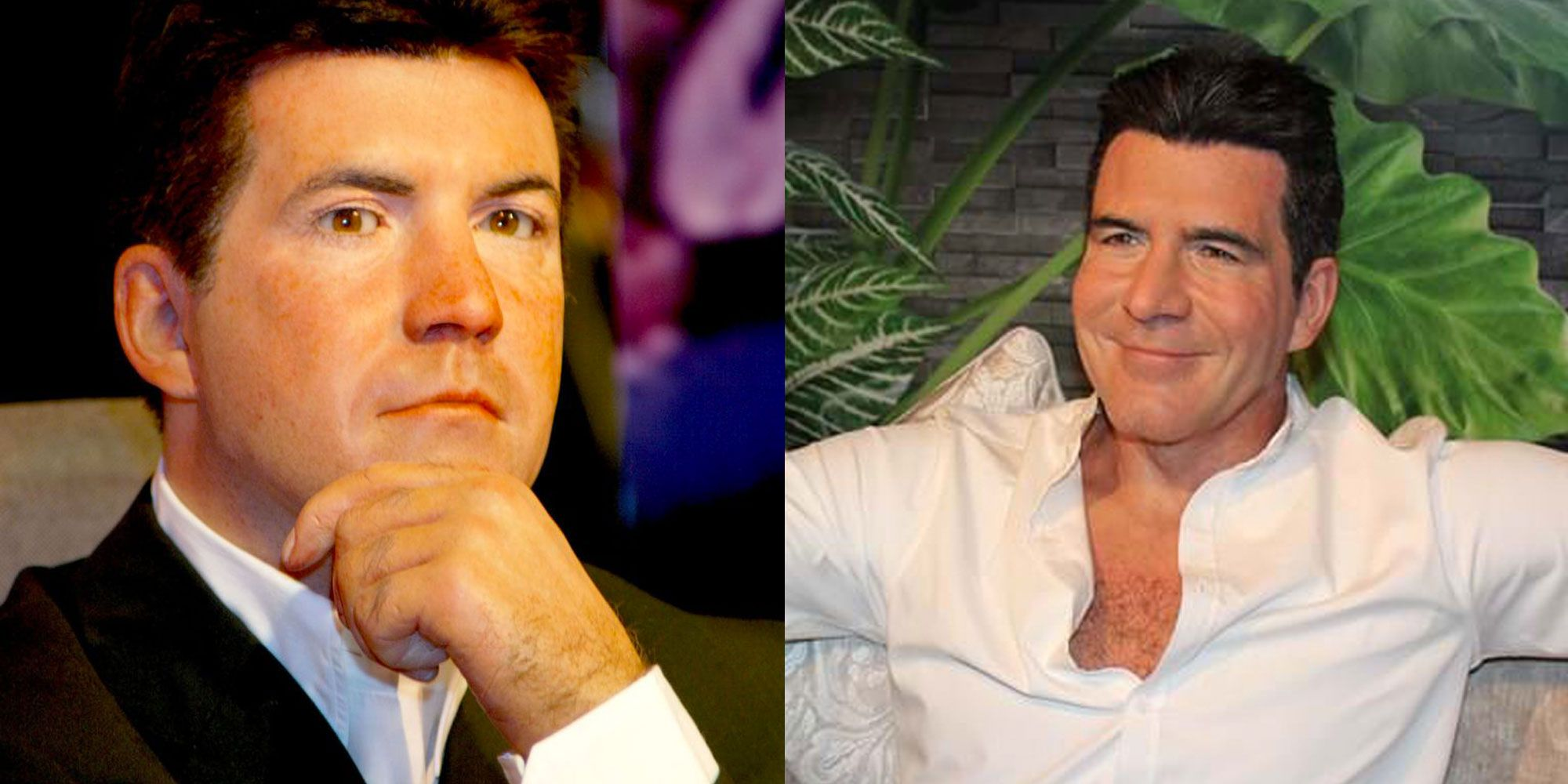 Simon Cowell's Wax Figure Got A Makeover Thanks To Veganism