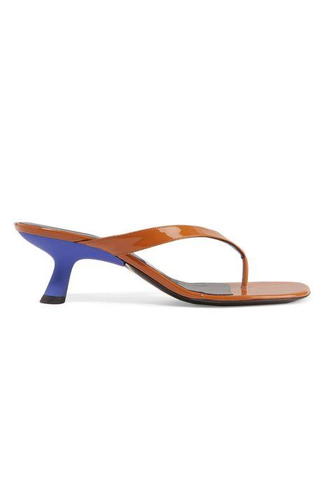 Simon Miller heeled flip-flips