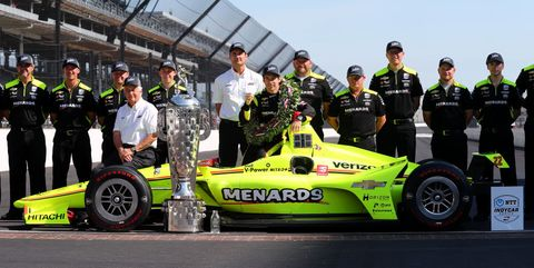 103rd Indianapolis 500 - Winner's Portraits