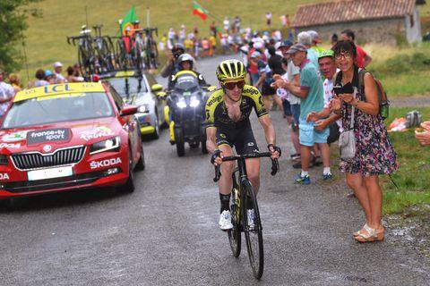 Laatste dag in de Pyreneeën - Winst Simon Yates
