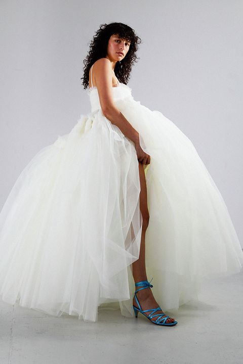 molly goddard bridal wedding dress