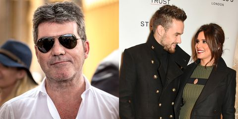 Simon Cowell wants to be godfather to Liam Payne and Cheryl's baby