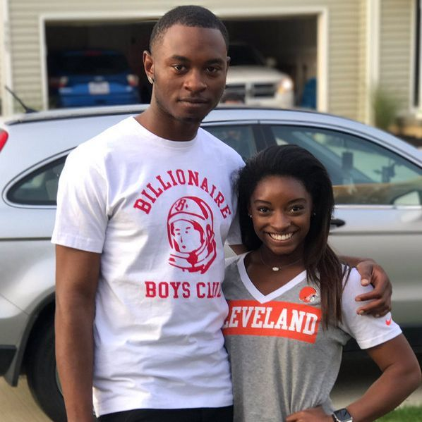 Simone Biles Releases Statement After Her Brother Tevin Biles-Thomas Is Charged in Ohio Triple Murder