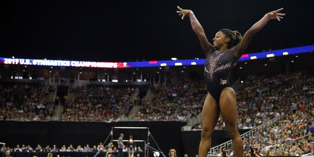 Simone Biles Makes History With the 'Hardest Move in the World' at the U.S. Gymnastics Championships