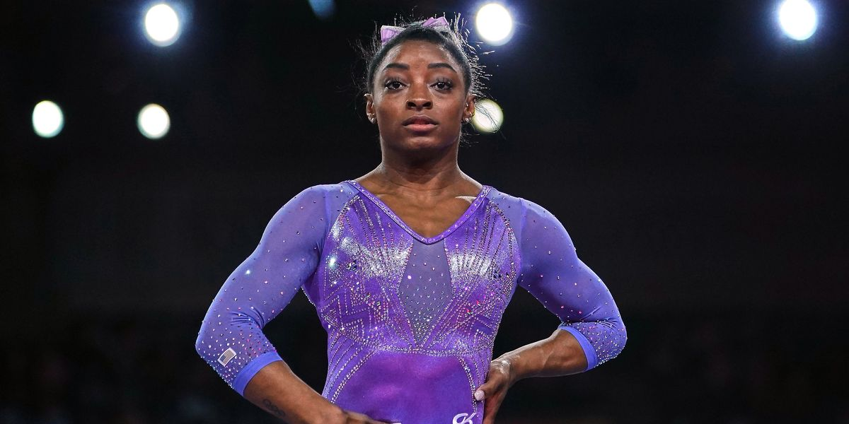Simone Biles Just Landed a Difficult Gymnastics Move—and Fans Are Obsessed